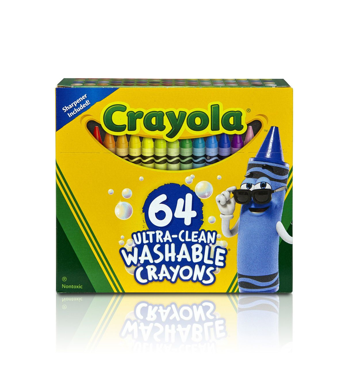 Crayola Ultra Clean Washable Crayons 64/Pkg | Products in ...