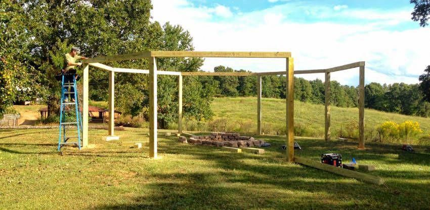 How much does it cost to build a pergola? #costtobuildadeck  #deckbuildingtips - How Much Does It Cost To Build A Pergola? #costtobuildadeck