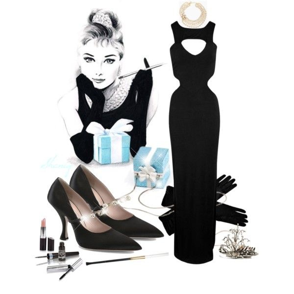 """Breakfast at Tiffany's by Sheniq"" by sheniq on Polyvore"
