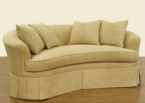 Kidney Shaped Sofa Love Seat Home Furnishings Sofa