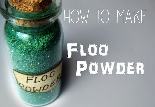 How To Make A Harry Potter Inspired Mini Jar Of Floo Powder Harry Potter Potions Harry Potter Birthday Potion Labels
