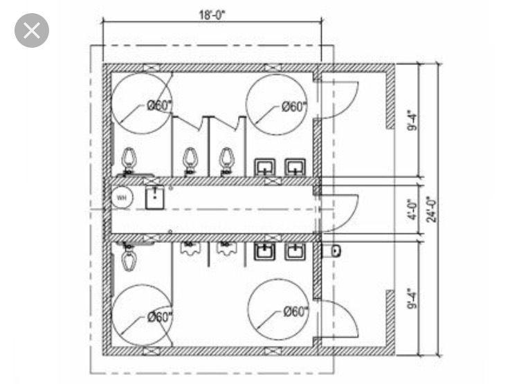 Pin By Exequiel Rodriguez On Barn Bathroom Floor Plans Toilet