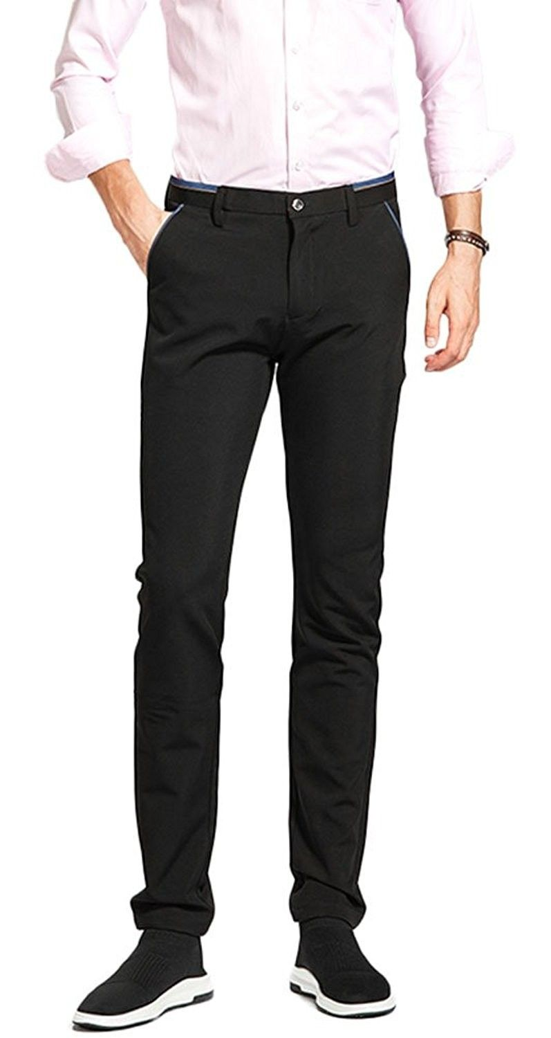 Black Gown Slacks For Males