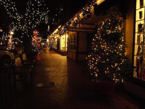Solvang Ca Christmas.Creating Holiday Cheer In Solvang Ca Solvang Lights Up The