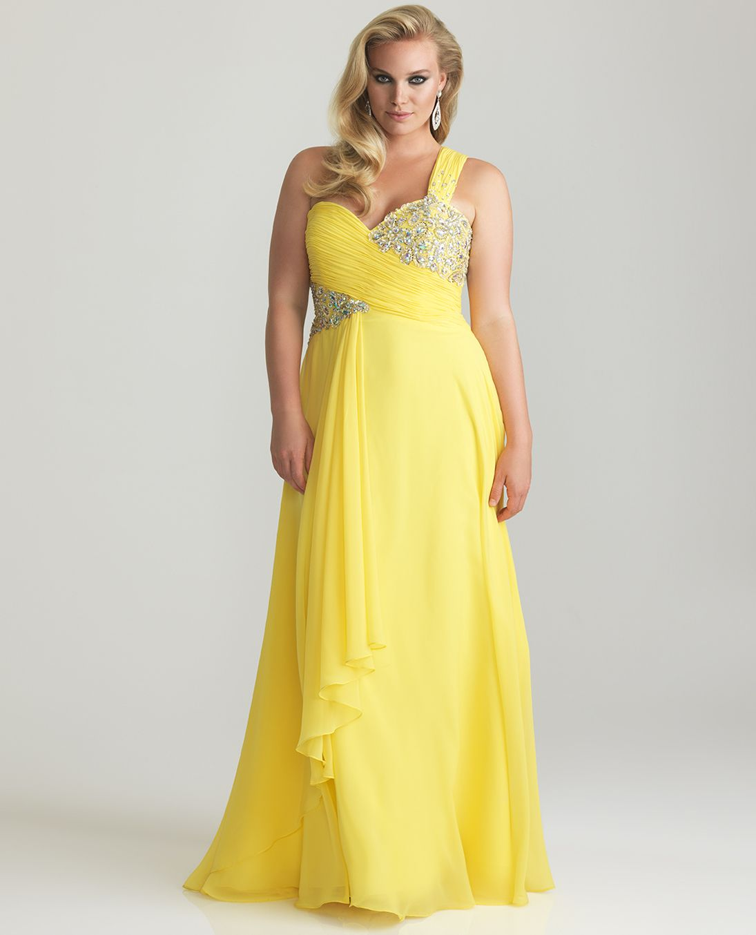 plus size bridesmaid dresses with sleeves | ... Plus Size Prom ...