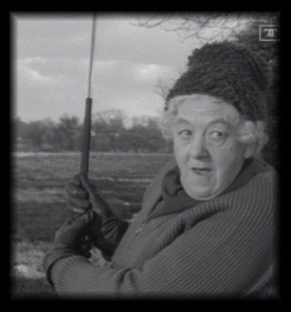 Margaret Rutherford ,the best miss marple.