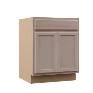 Hampton Bay Hampton Assembled 18x84x24 In Pantry Kitchen Cabinet In Natural Hickory Kp1884 Nhk The Home Depot Base Cabinets Unfinished Cabinets Home Depot Kitchen