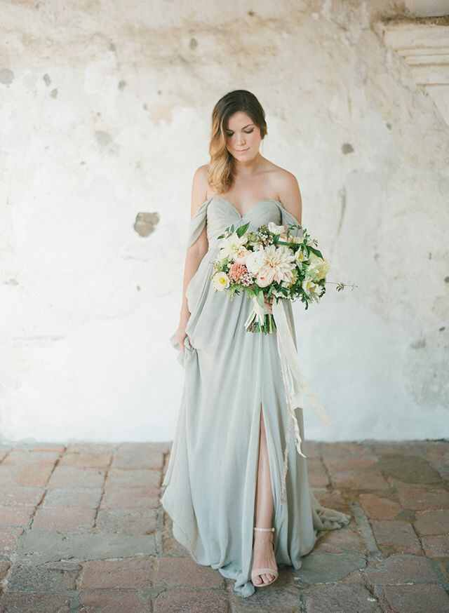 Beautiful romantic bridesmaid dress