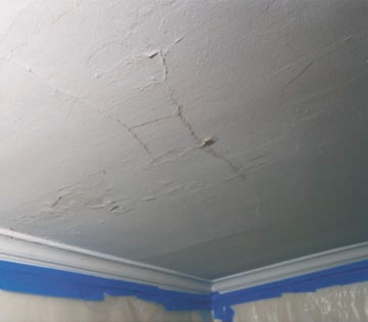 Step By Step How To Fix Plaster Ceilings House Plaster