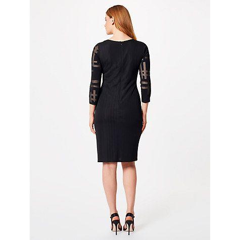 Buy Studio 8 Hermione Dress, Black Online at johnlewis.com
