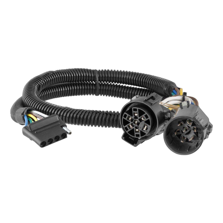 curt 56584 custom wiring harness chevy silverado 2015 silverado trailer hitch rv trailers [ 1500 x 1500 Pixel ]