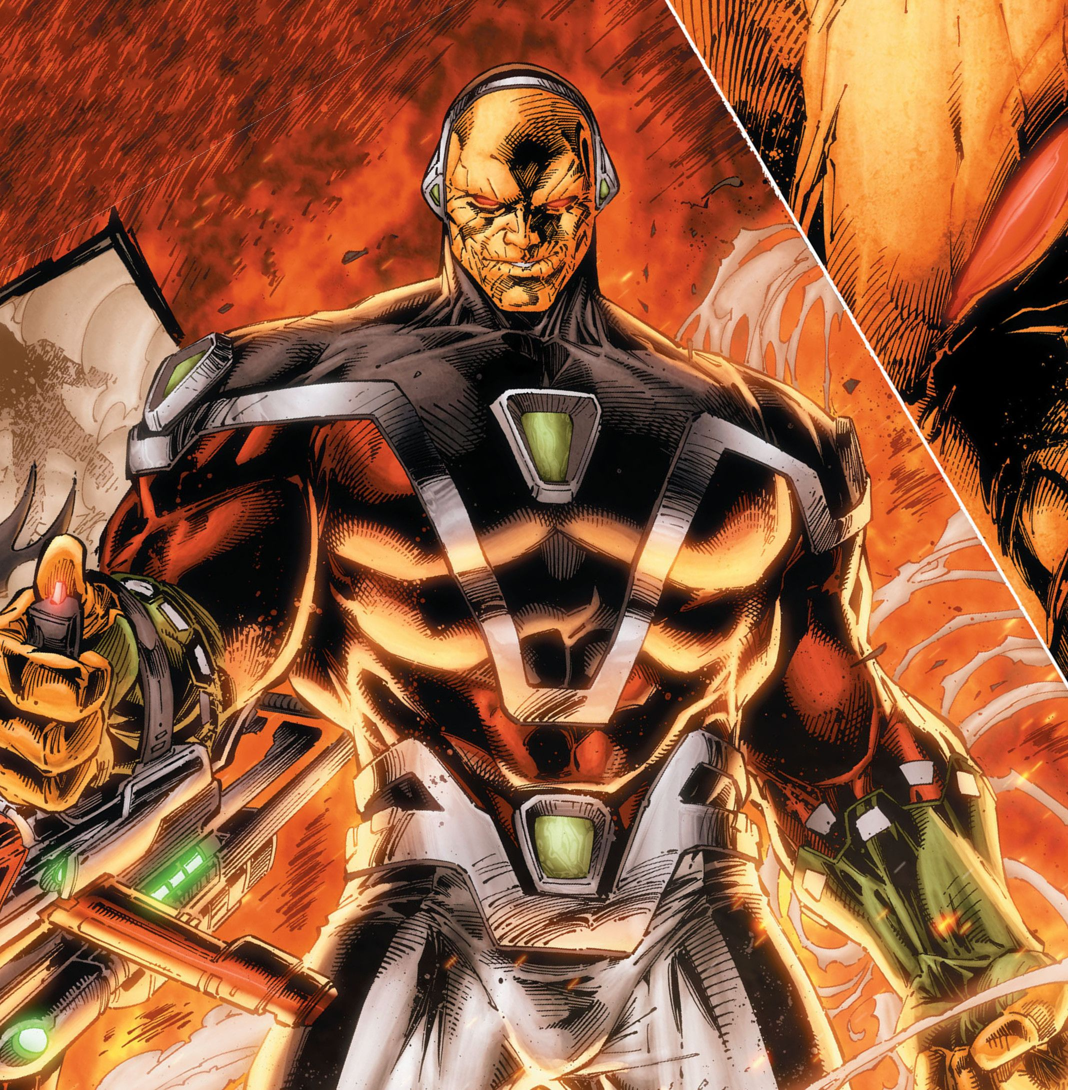 Dc comics artwork, Comic villains, Dc comics art