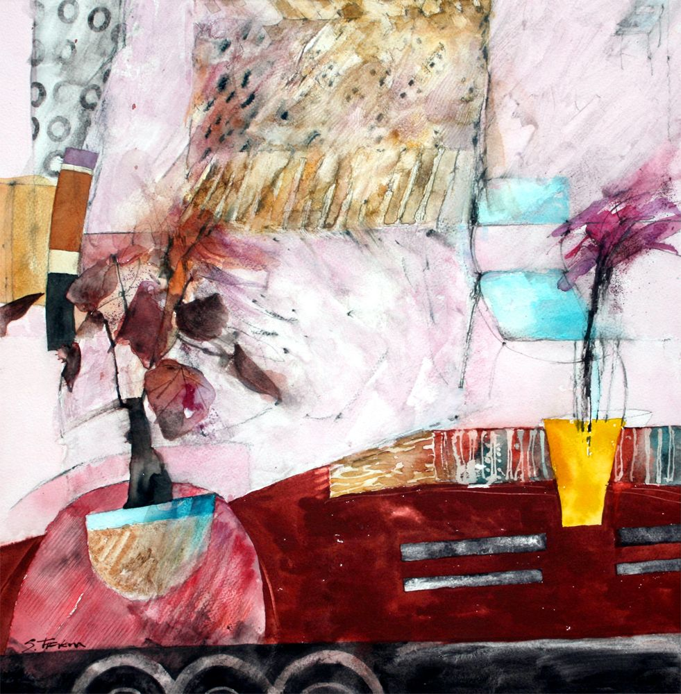 Gallery Shirley Trevena Painting Watercolor Art
