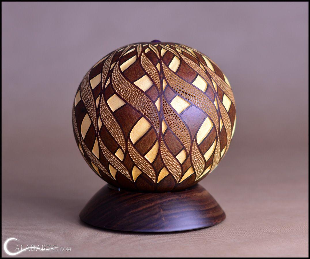 Captivating Polish Artist Przemek Krawczyński Transforms Them Into High End Pieces Of  Art. Using Round Calabash Gourds, Krawczyński Makes Intricate, Handcrafted  Lamps.