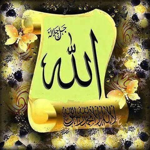 Desertrose Allah Arabic Calligraphy Art Islamic Calligraphy Allah