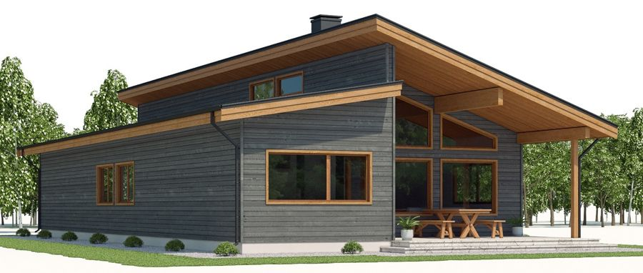 House Design House Plan Ch494 4 House Outside Design House Plans Contemporary House Plans