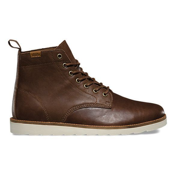 789a119eda8 Vans Sahara Boot-Leather Brown | Footwear in 2019 | Mens brown boots ...