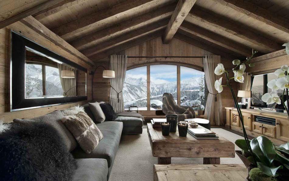 Chalet de luxe à Méribel pour des vacances d\'hiver inoubliables ...