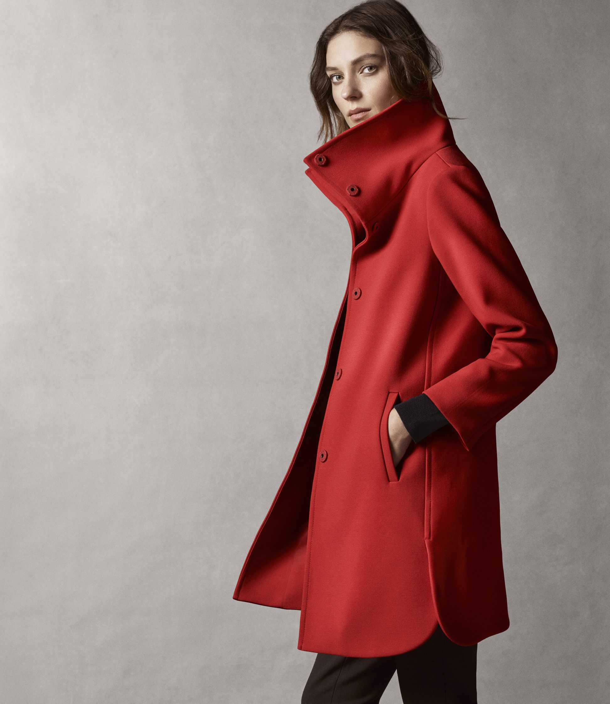 Red Statement Coat Coats Red Coats And The Ojays