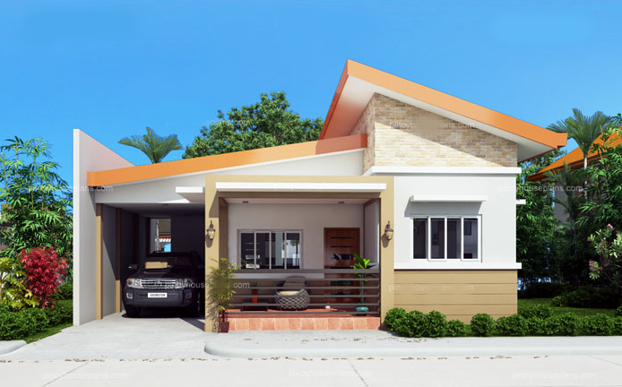 Simple house designs are easy to layout due to its simplicity and