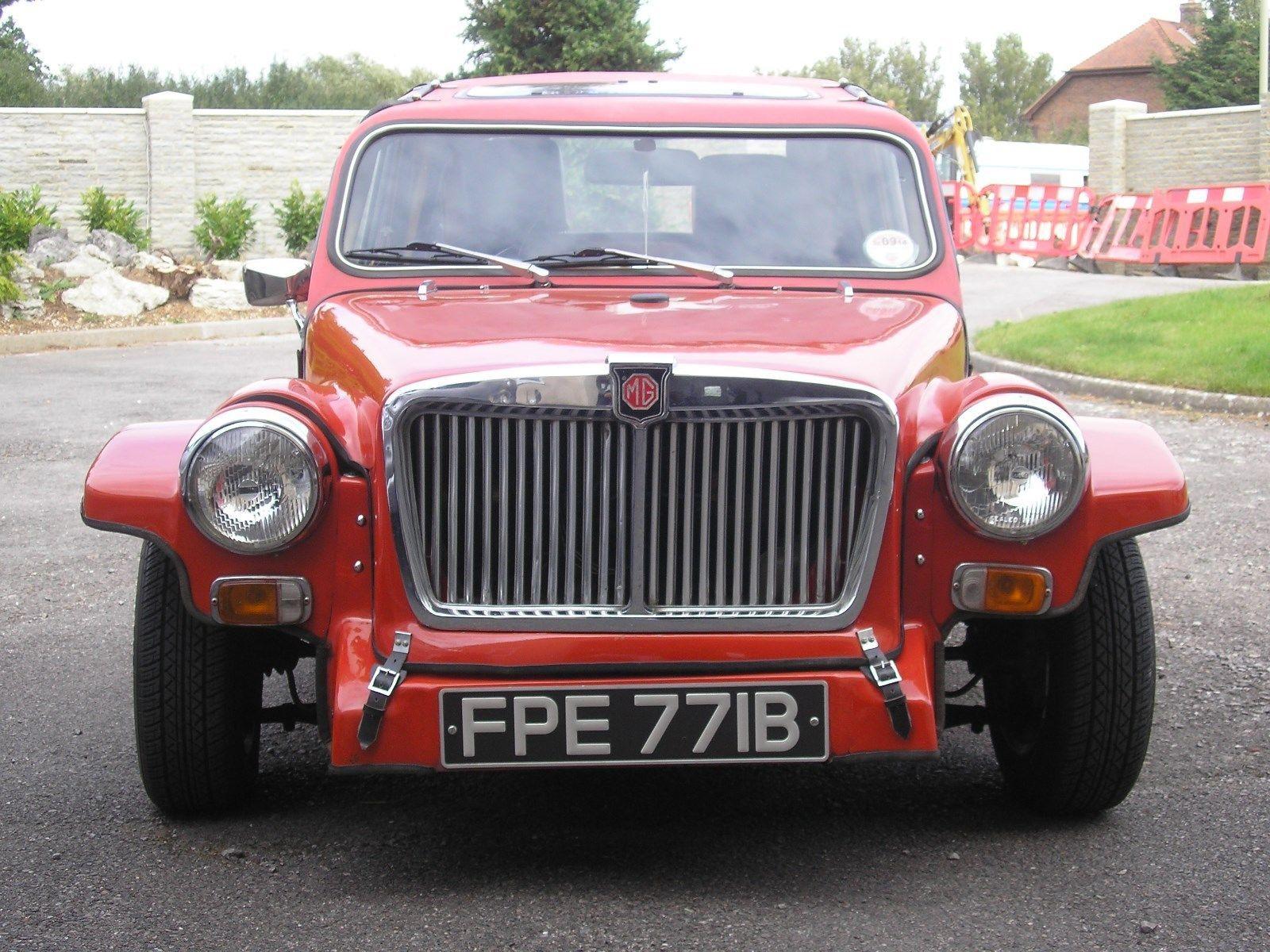 Lightspeed Panels MG Magenta kit car, Austin, Morris 1400cc mini ...