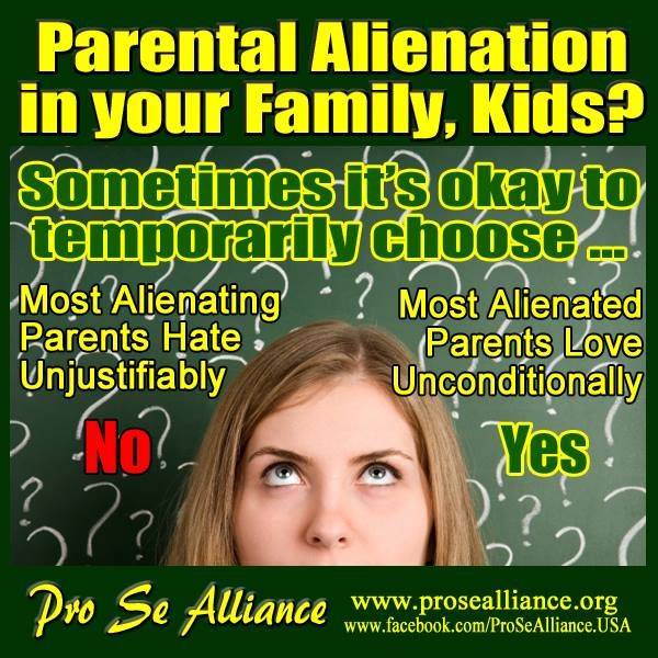 Parental Alienation in your Family. – Stand Up For Zoraya