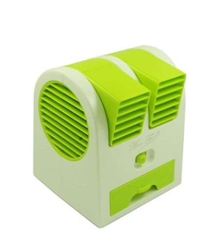 Portable Mini Fanbattery Capacity 2200 Mahimported Productcolor