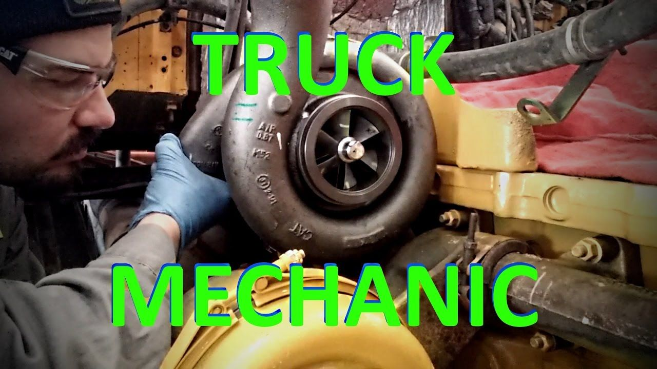 A Day In The Life Of A Truck Mechanic. Heavy Duty Truck