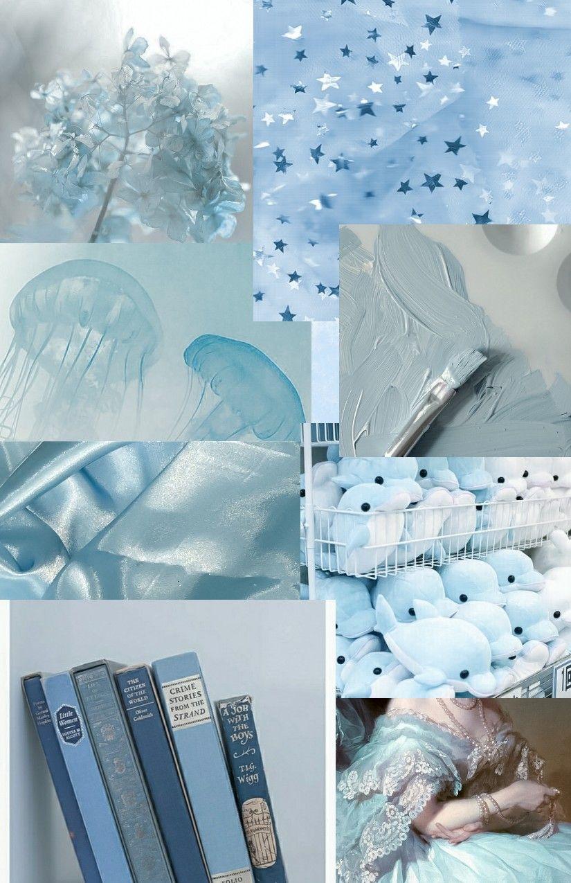 голубой эстетика