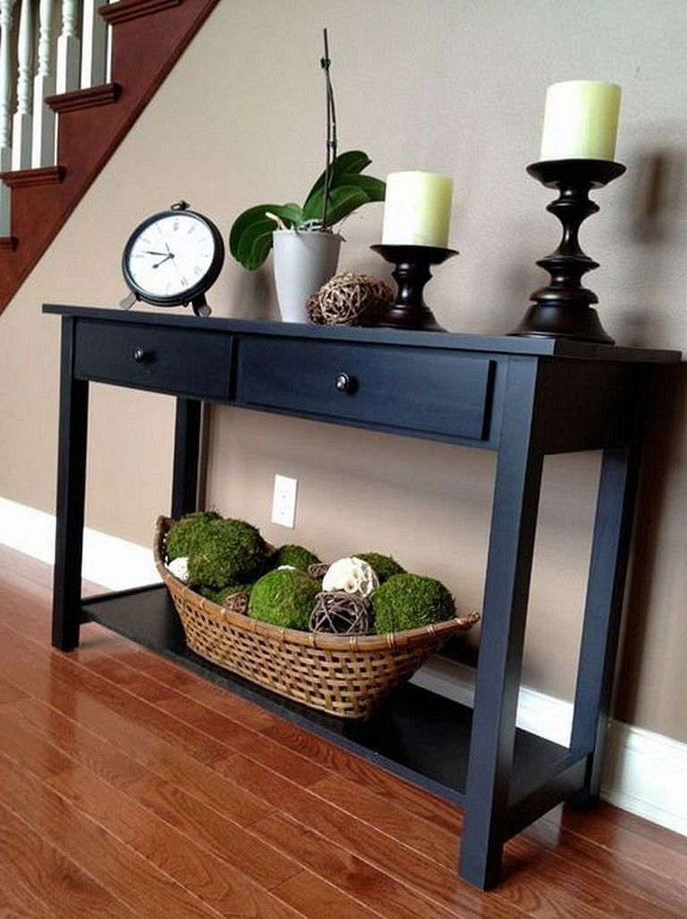 28+ Cool Console Table Decorating Ideas to Freshen Up Your ...