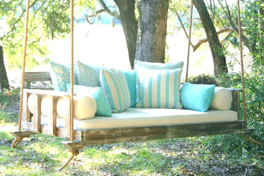 Diy Porch Swing Bed Swinging Porch Beds Vintage Porch Swings