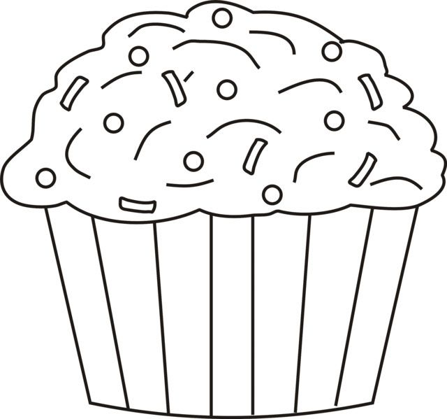 Pin By Shreya Thakur On Free Coloring Pages Cupcake Coloring
