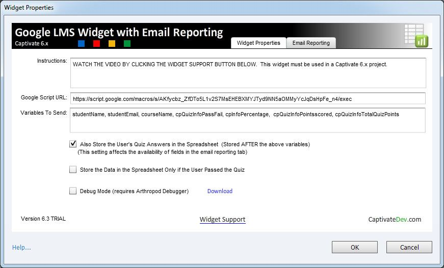 adobe captivate 6.x widget: google lms with email reporting, Powerpoint templates