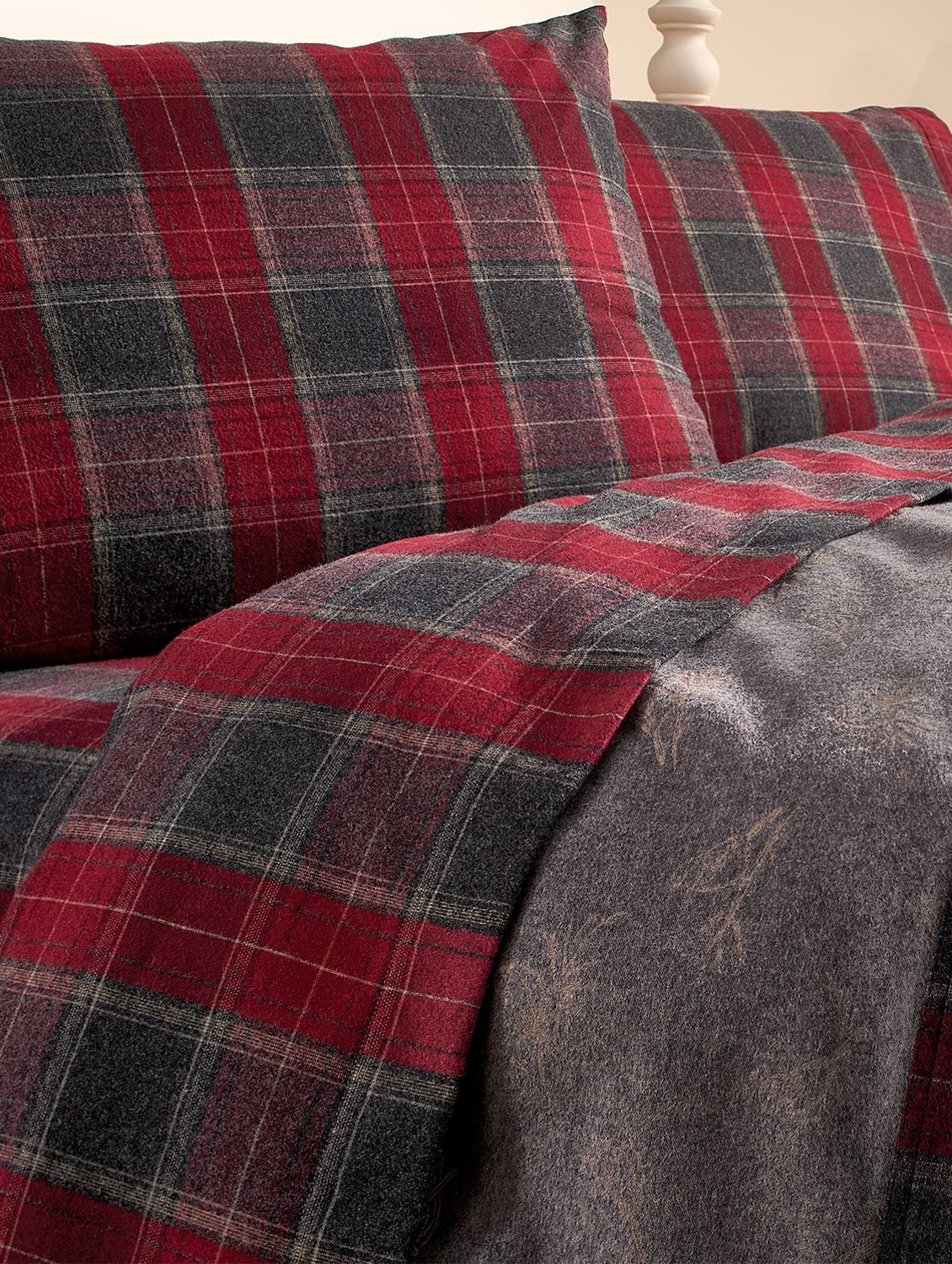 Take A Another Look At Our Heathered Plaid Double Flannel Blanket It S Just As Beautiful As It Is Cozy Plaid Bedding Flannel Blanket Plaid Sheets