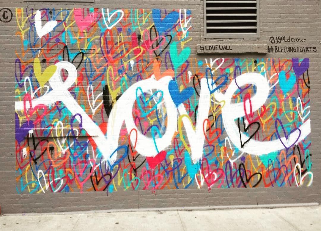 Love soho nyc streetart locations lxtprod by lxtprod