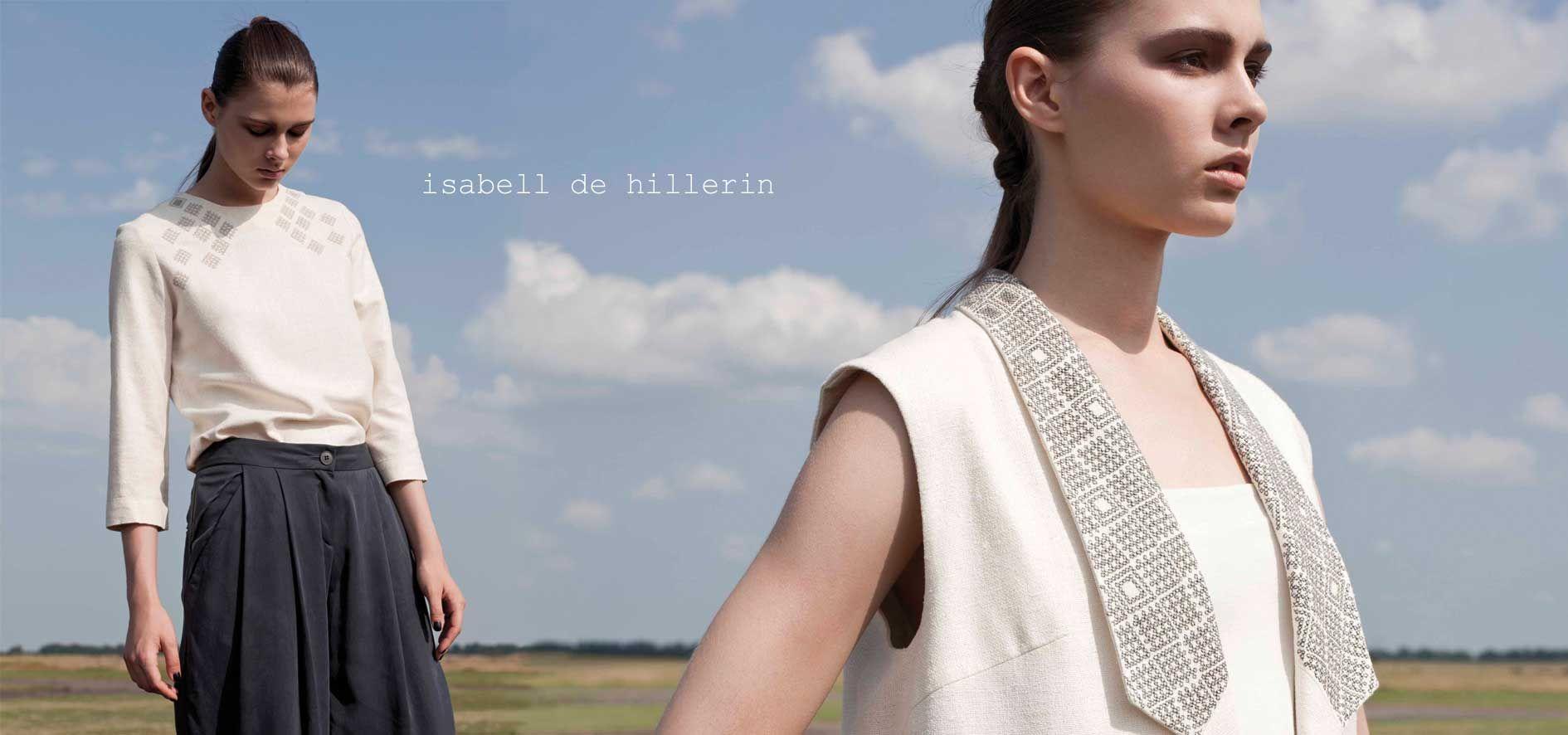 isabell de hillerin : fashion designer