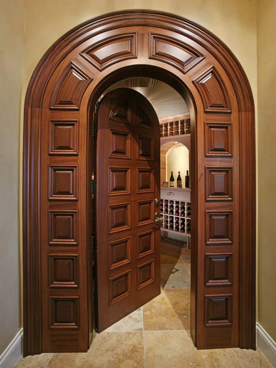 26++ Puertas de arco de madera ideas