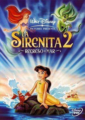 La Sirenita 2 Regreso Al Mar Pelicula Completa Online Peliculas Infantiles De Disney La Sirenita 2 Películas De Princesas