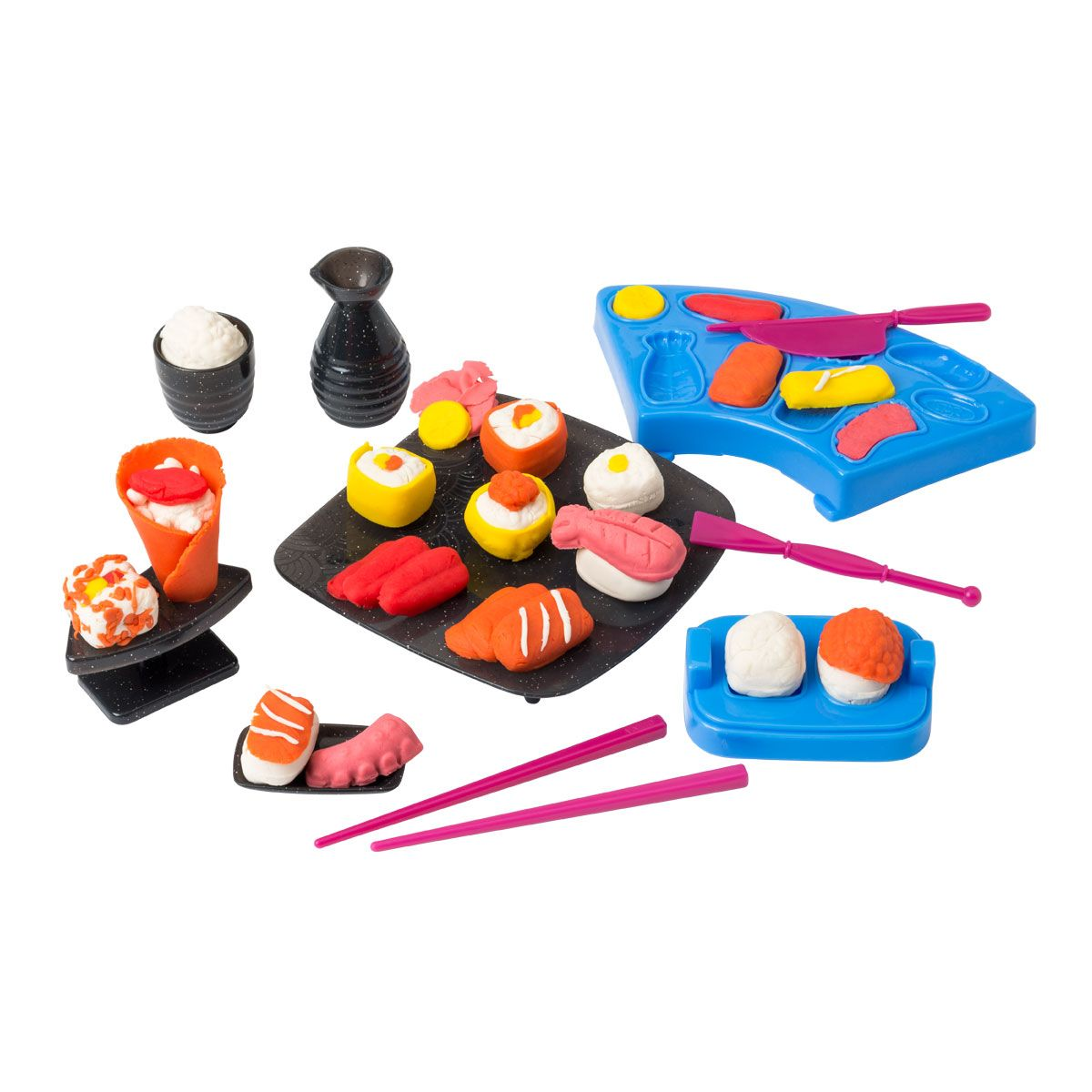 Coffret de pâte à modeler sushi Artibul création Oxybul en 2020 | Idée de jeux, Jeux eveil