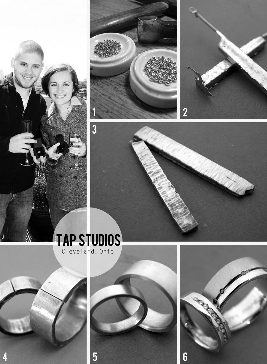 Diy Wedding Bands At Tap Studios In Cleveland Ohio
