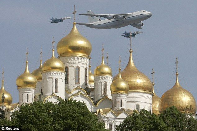 The Kremlin, in Moscow .