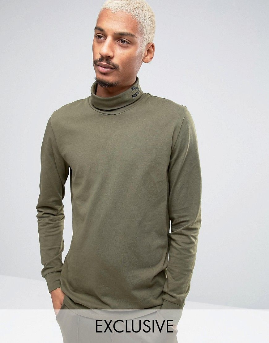 abbe7c4f6 Get this Puma's turtleneck t-shirt now! Click for more details ...