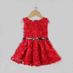 Exquisite Rose Dress Price Rs1 850 Baby Clothes Online India