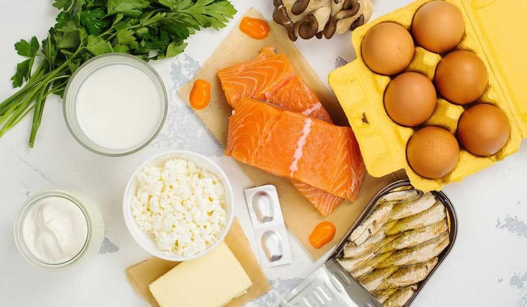 أطعمة تزيد نسبة فيتامين د في الجسم Vitamin D Rich Food Nutrition Healthy