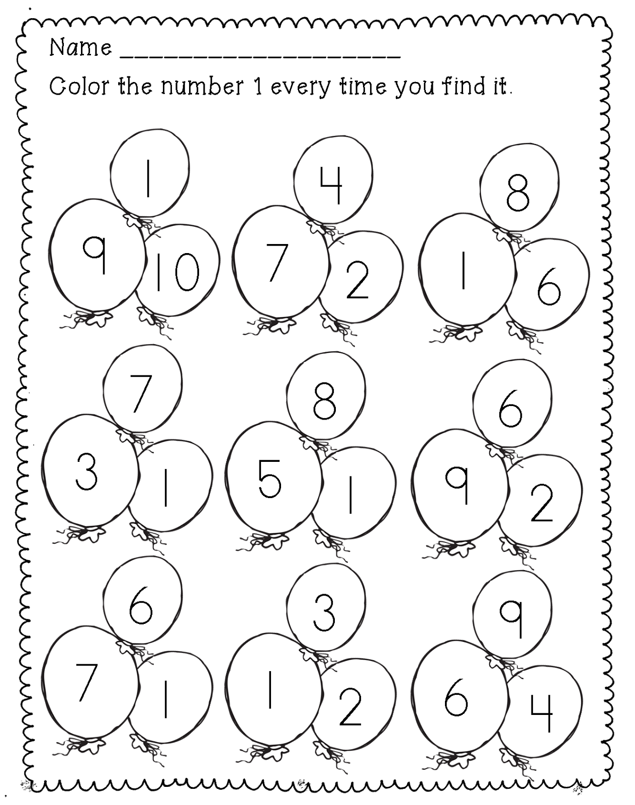 Number Work For Kindergarten