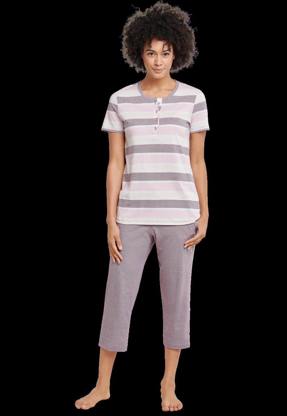 Dames Pyjama Met Korte Broek