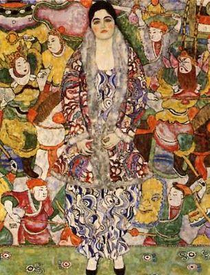 Gustav Klimt. Friedericke Maria Beer-Monte.1916