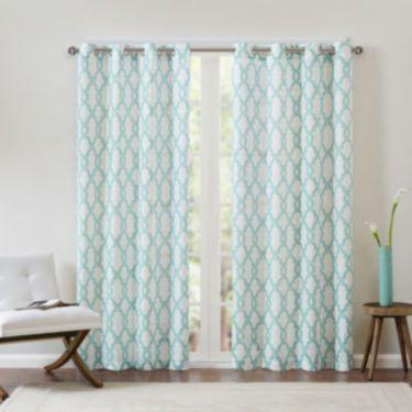 jcp   Grant Grommet-Top Curtain Panel