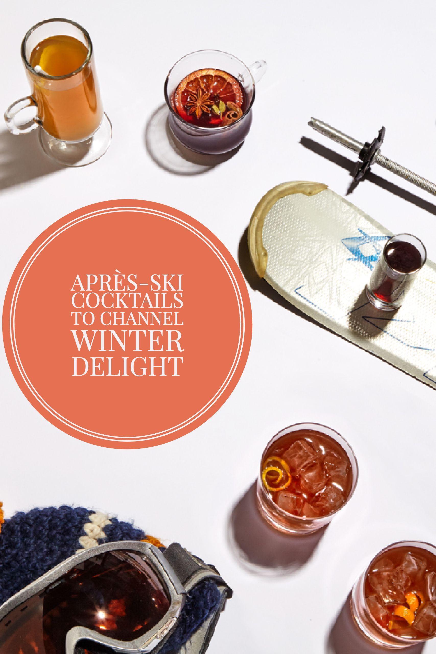 AprèsSki Cocktails to Channel Winter Delight Wine