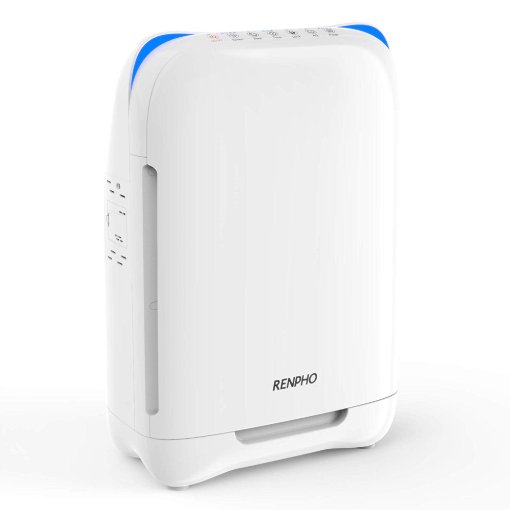One 1 Renpho Ap0001 Air Purifier With Images Air Purifier Allergies Hepa Air Purifier Air Purifier